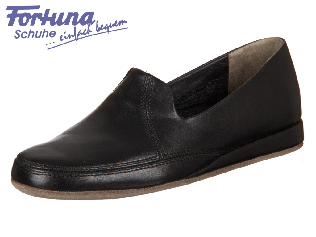 Fortuna BolognaCosy 434052-02-001 schwarz Rindleder