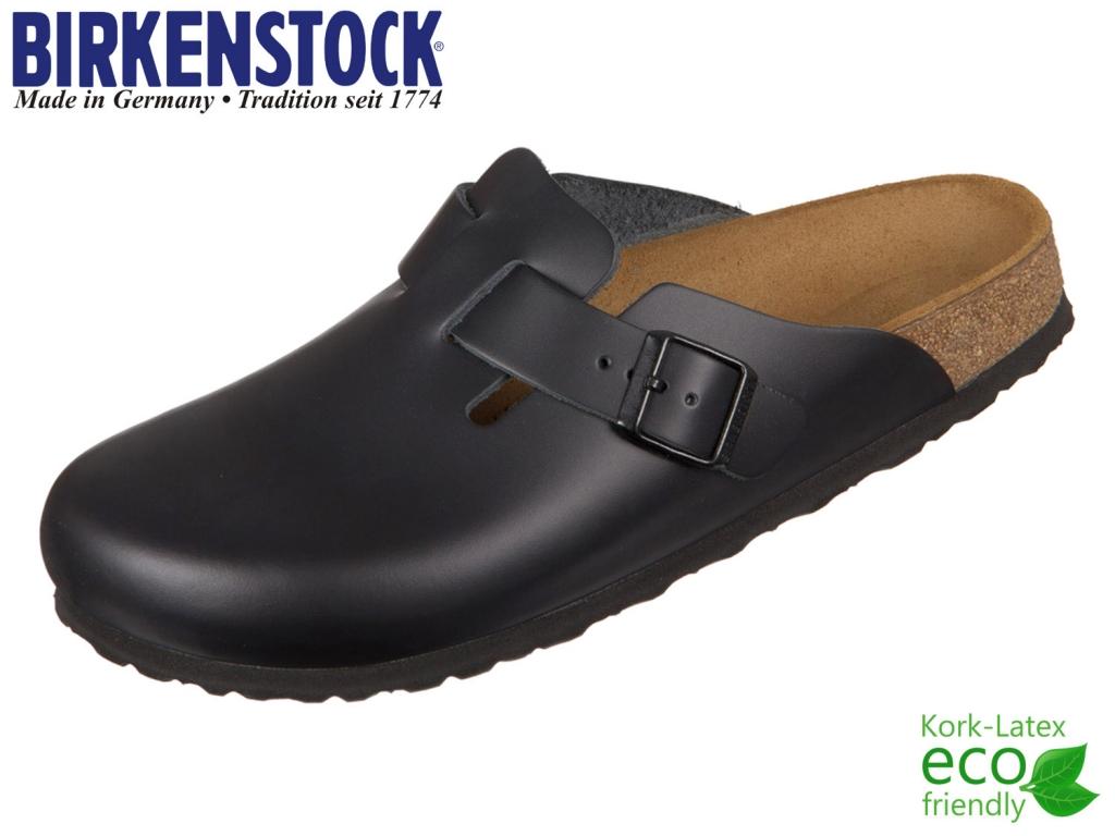 Birkenstock Boston 060193 schwarz Leder