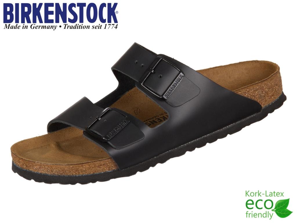 Birkenstock Arizona 051193 schwarz Leder