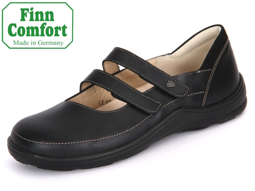 Finn Comfort Jerez 02750-900119 schwarz Nappaseda-Nubuk