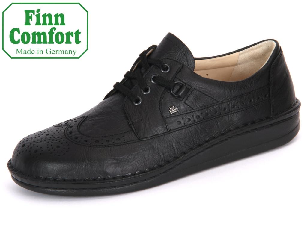 Finn Comfort York 01005-006099 schwarz Togo