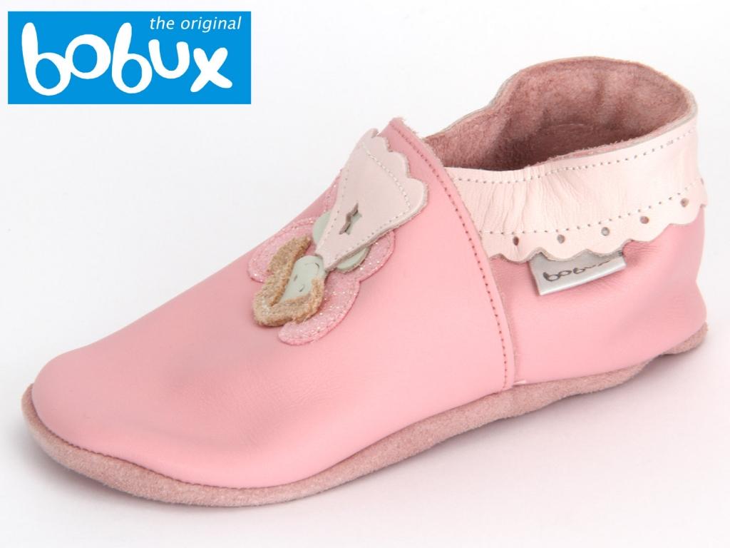 Bobux Fee 4121 pink Glattleder