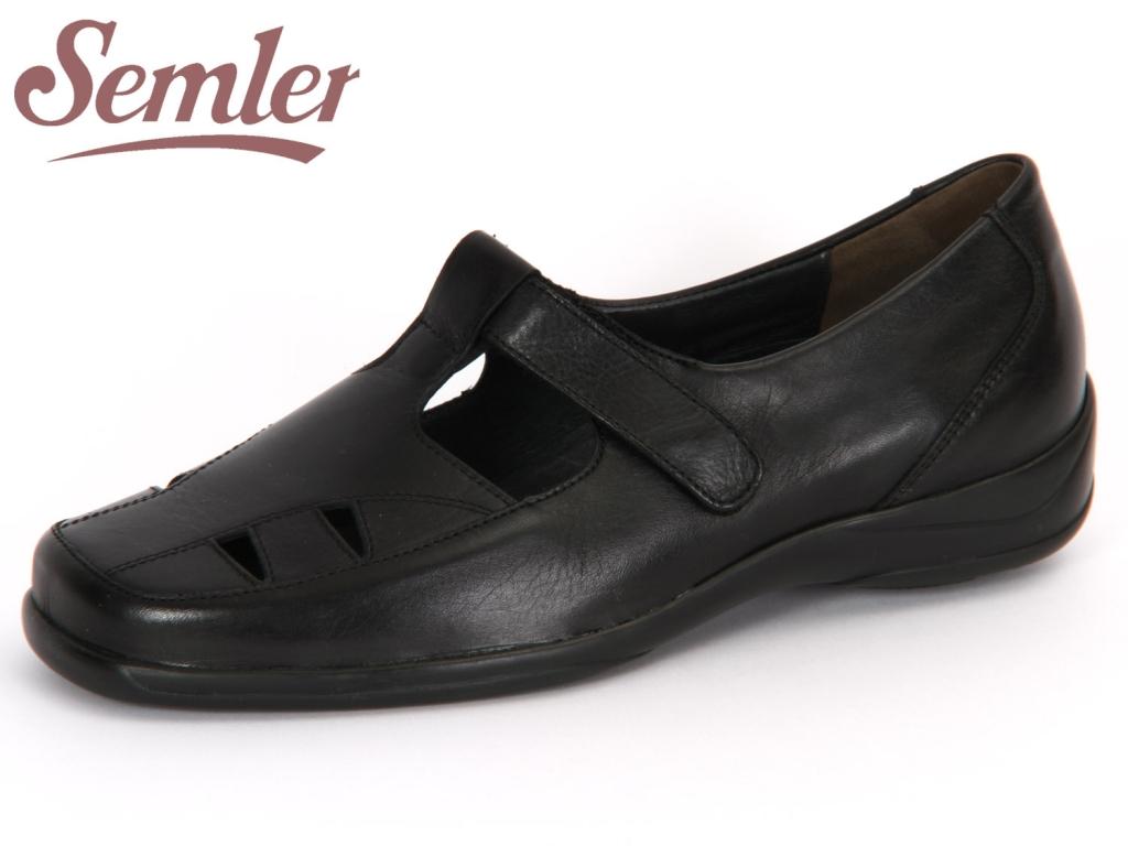 Semler Olivia O1095012001 schwarz Soft Nappa