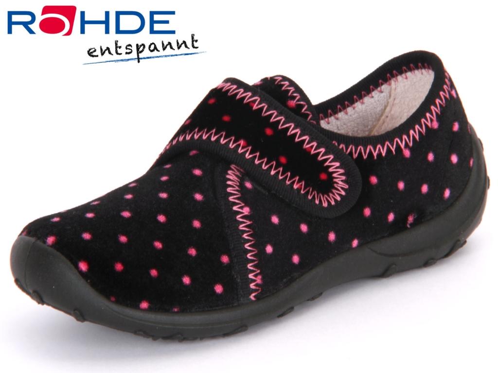 Rohde 2138-94 schwarz pink Samt bedruckt