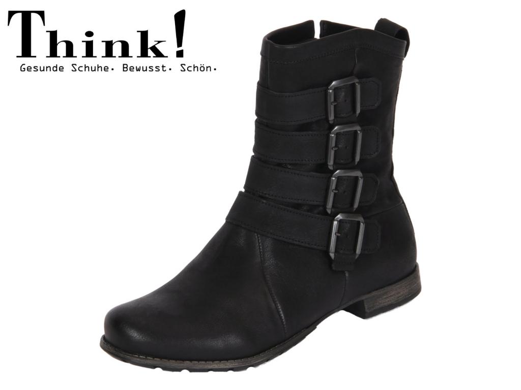 Think! 81012-00 schwarz Rustic Calf