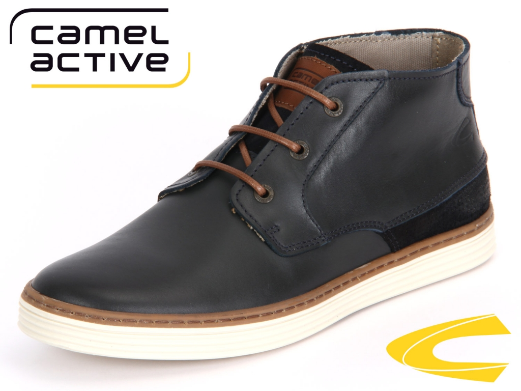 camel active Copa 376.12-02 midnight Brushed Cow Oil Suede