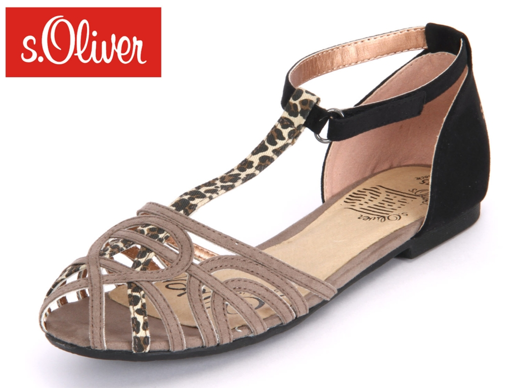 S.Oliver 5-48211-22-326 pepper combi Imit Suede