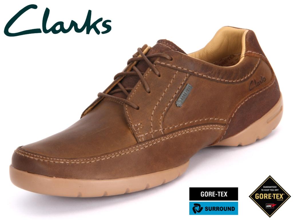 Clarks Ramblas Way GTX 20348874 tobacco Nubuck