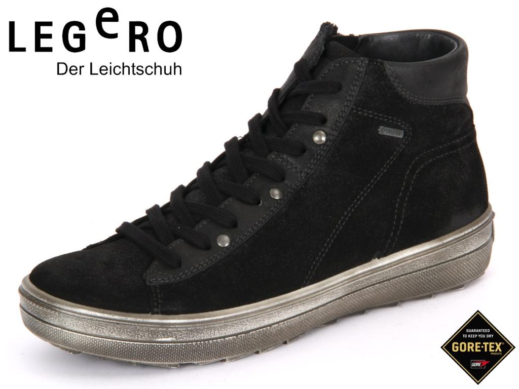 Legero 3-00631-00 schwarz Velour Nappa