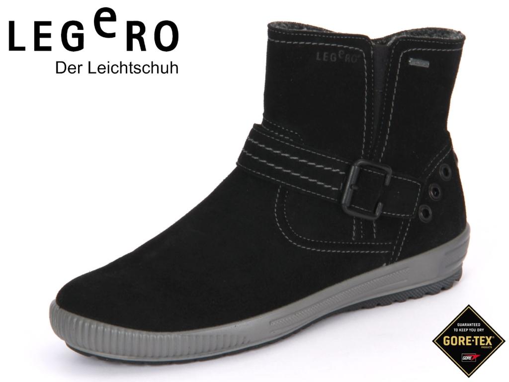 Legero 3-00612-00 schwarz Velour