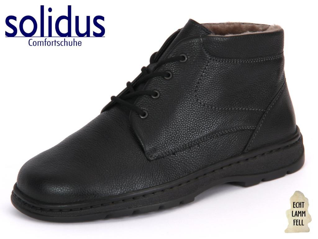 Solidus Natura 82118-00090 schwarz Softcalf