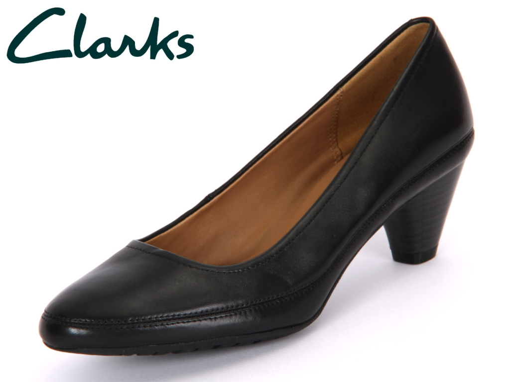 Clarks Denny Mellow 20355493 black Leather