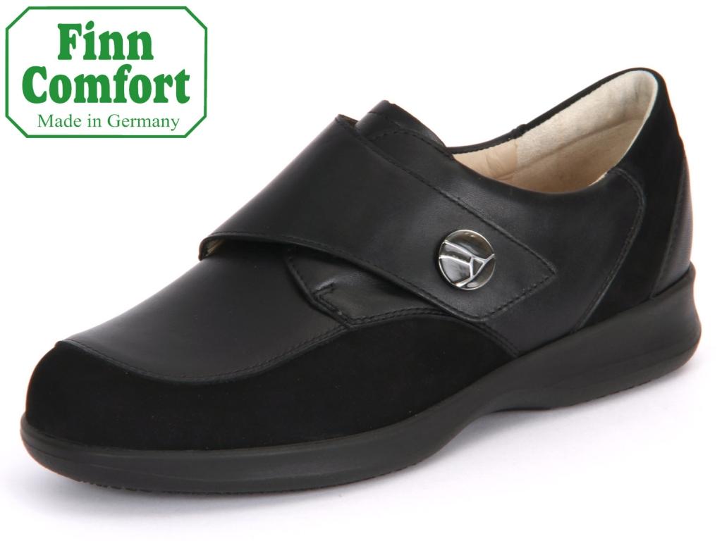 Finn Comfort Empoli 02360-900125 schwarz Nubuk-Nappaseda