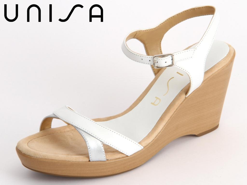 Unisa Roxa white silver Leather