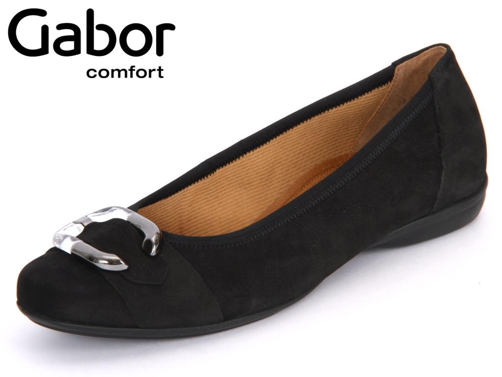 Gabor Florenz 22.620-47 schwarz Nubuk Lavato