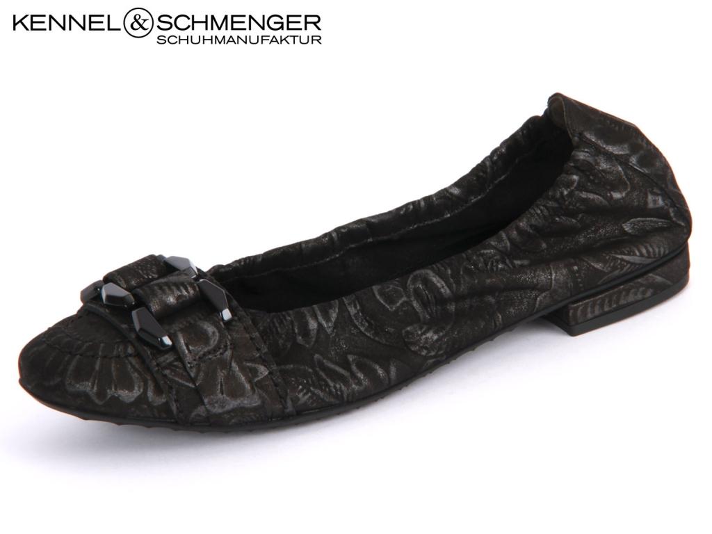 Kennel & Schmenger Malu 91 91710.440 schwarz black Silver Flora