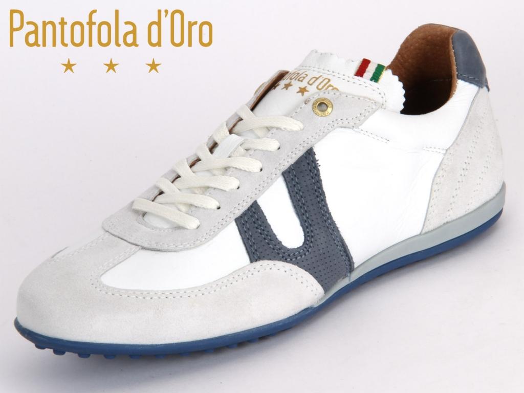 Pantofola d Oro Scafati Low Men 06041034.1FG bright white new Leder