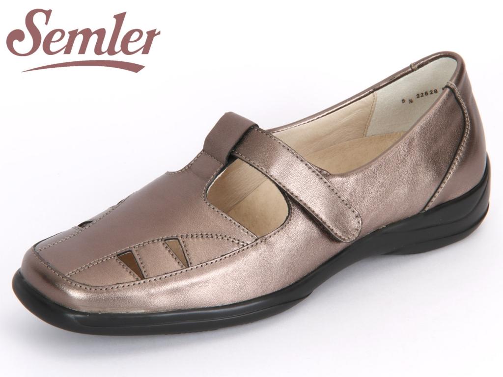 Semler Olivia O1095-019-052 bronce Metall-Nappa