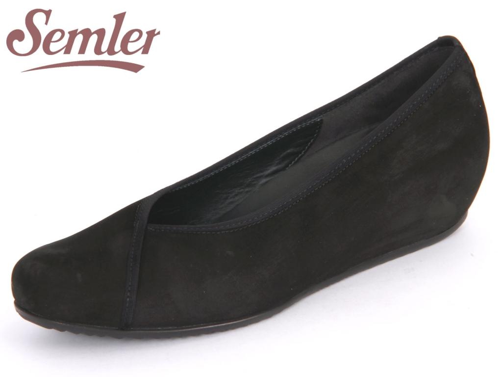 Semler Gina G5012040001 schwarz Nubukina