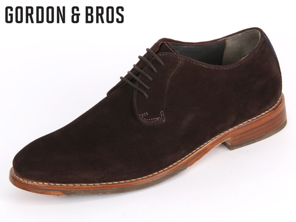 Gordon & Bros. 200-000 brown Suede