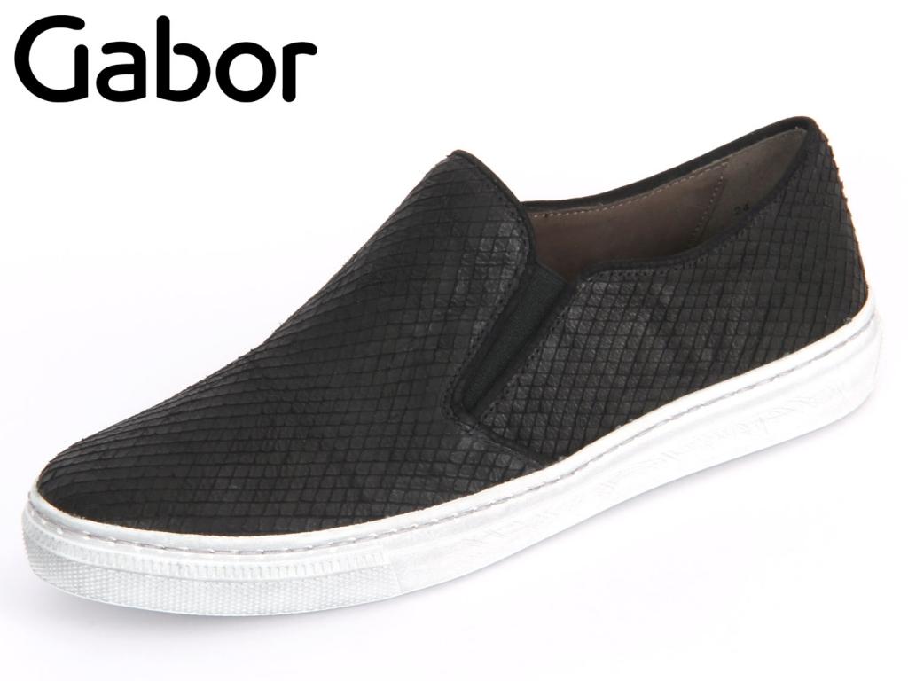 Gabor 24.340-87 schwarz Cobra Nubuk