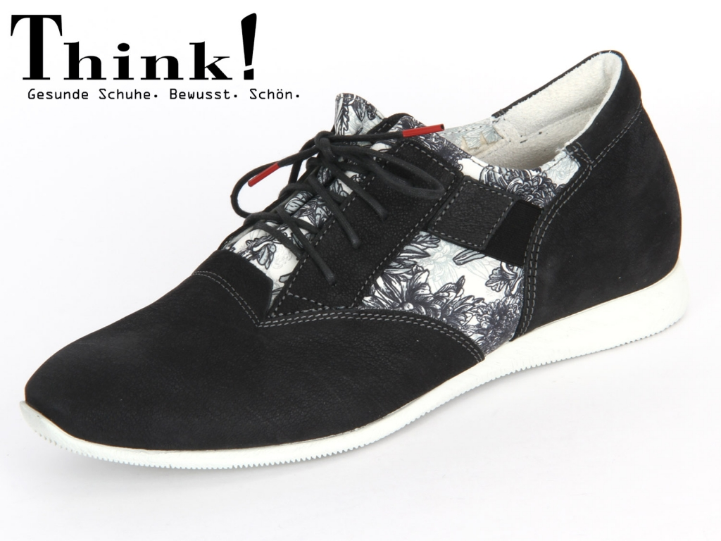 Think! 84094-08 sz weiss Soft Capra Effekt