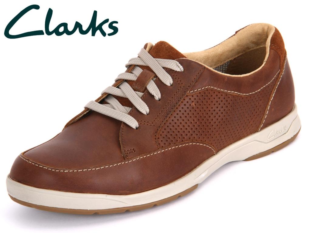 Clarks Stafford Park 5 203585937 tan Leather