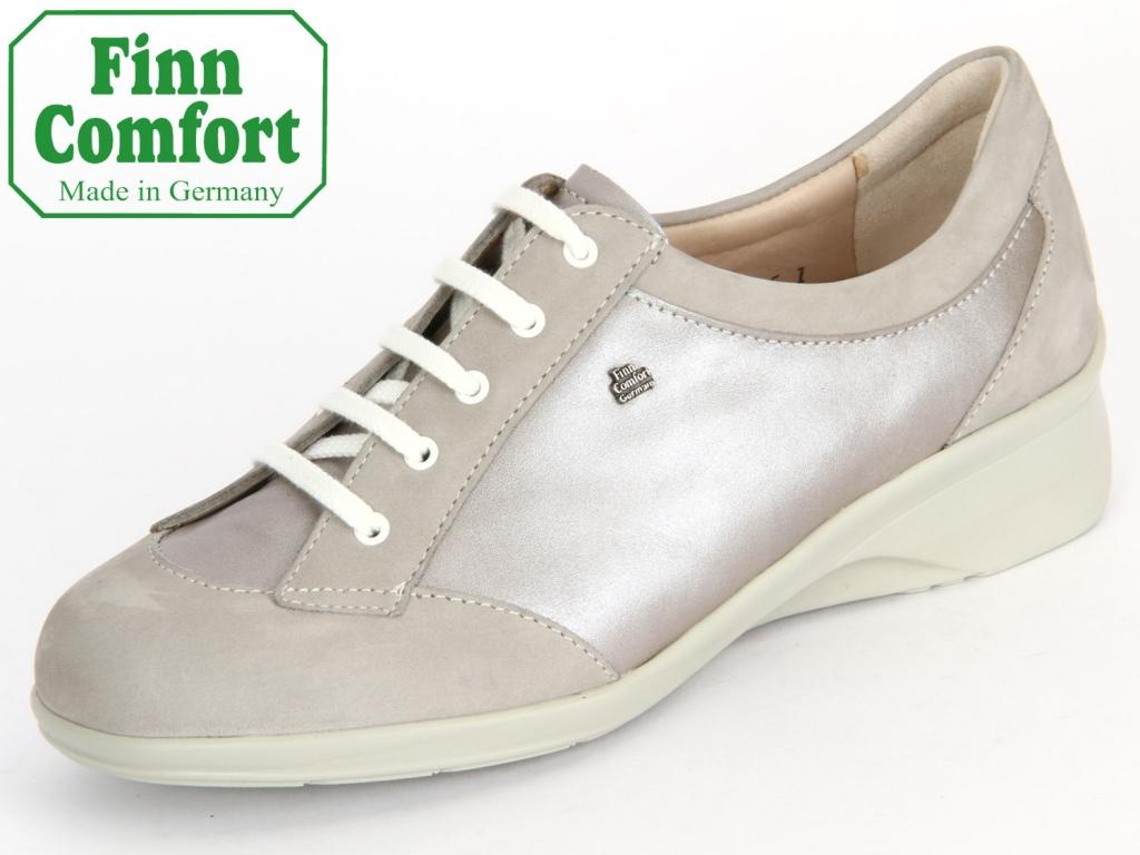 Finn Comfort Estoril 3600-901307 rock-taupe Nubuk-Luxperl