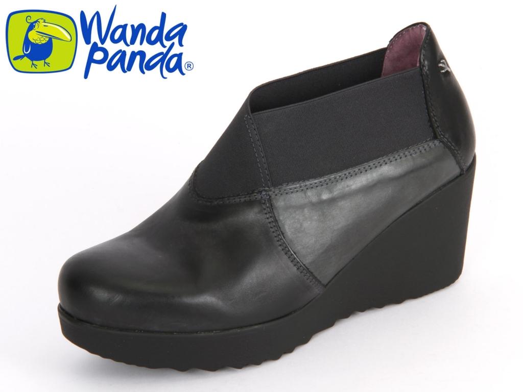 Wanda Panda WP-4304-005 negro Leder