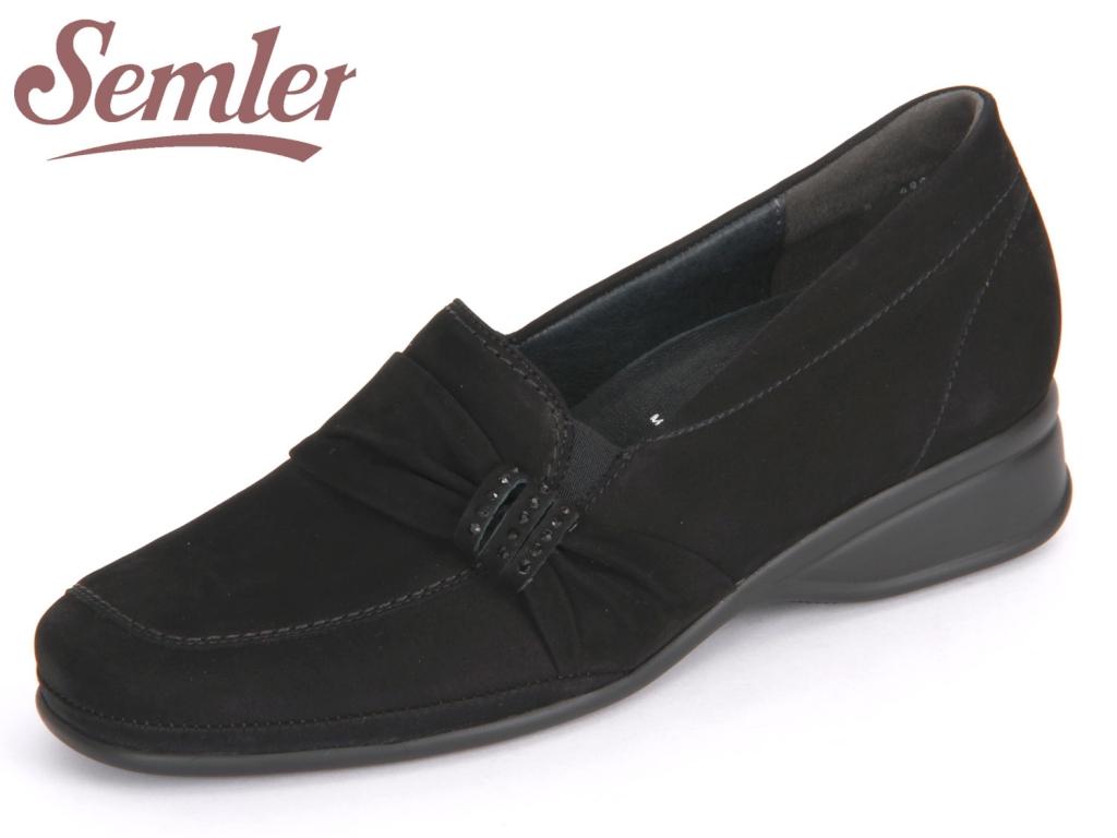 Semler Ria R1215040001 schwarz Nubukina