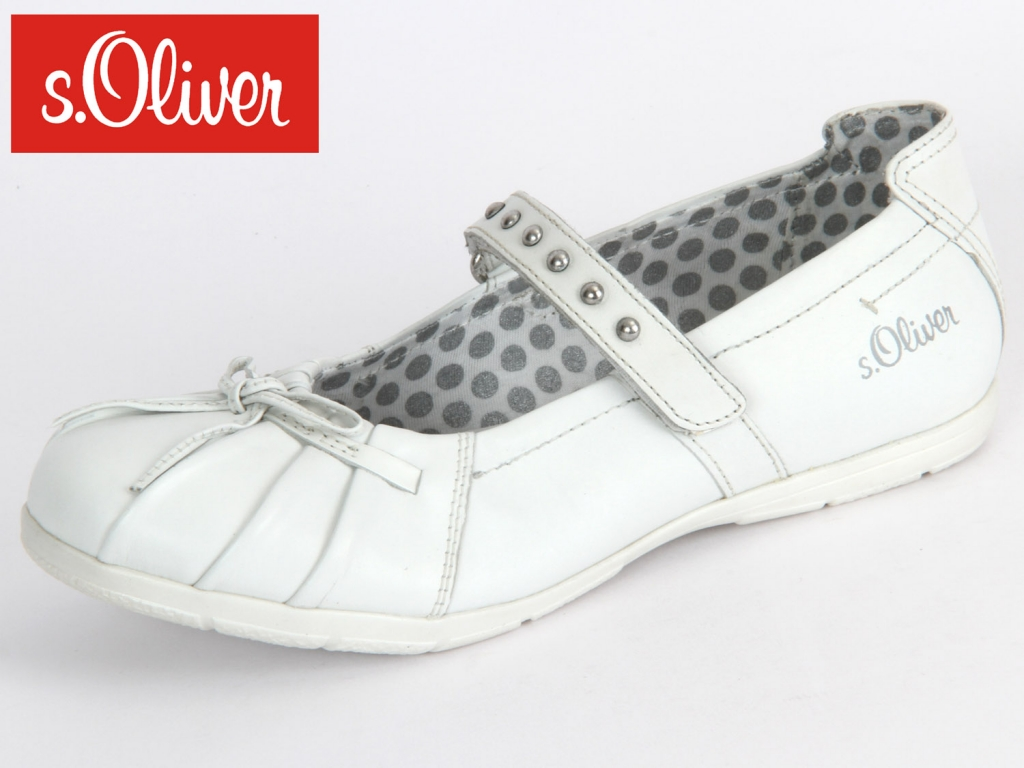 S.Oliver 5-42800-34-100 white nappa leather