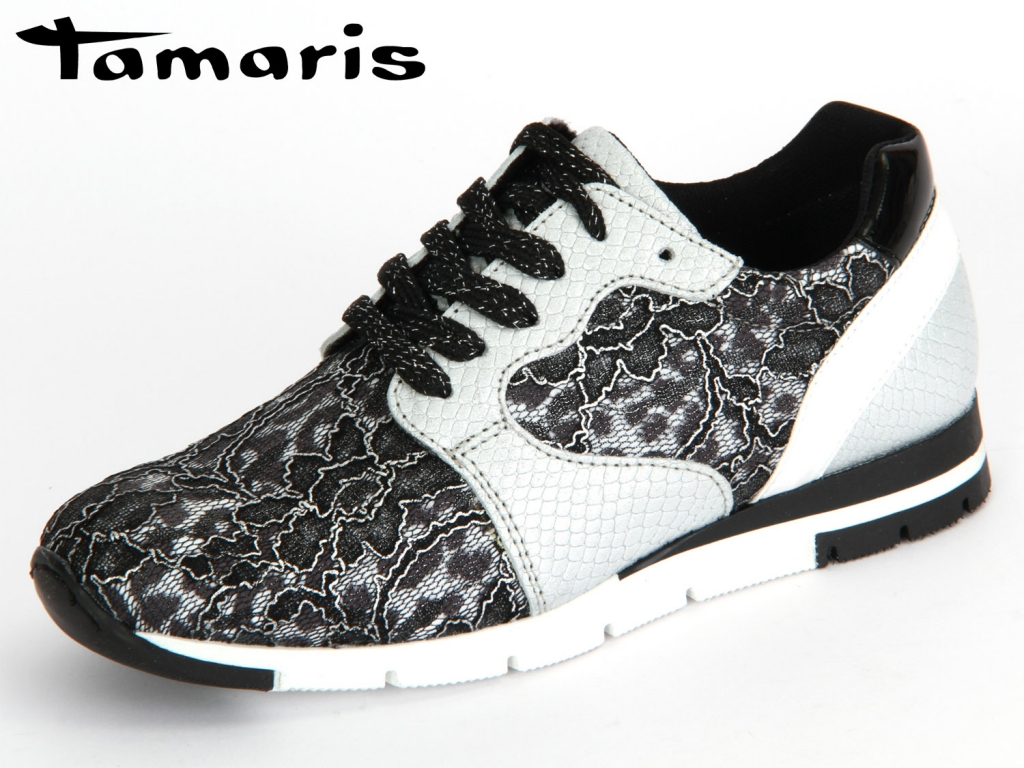 Tamaris 1-23635-35-982 silver black