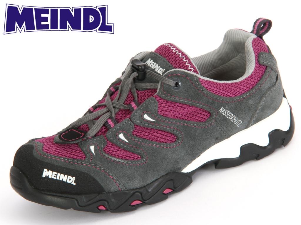 Meindl Tarango Junior 2057-81 brombeer-grau Velourleder-Mesh