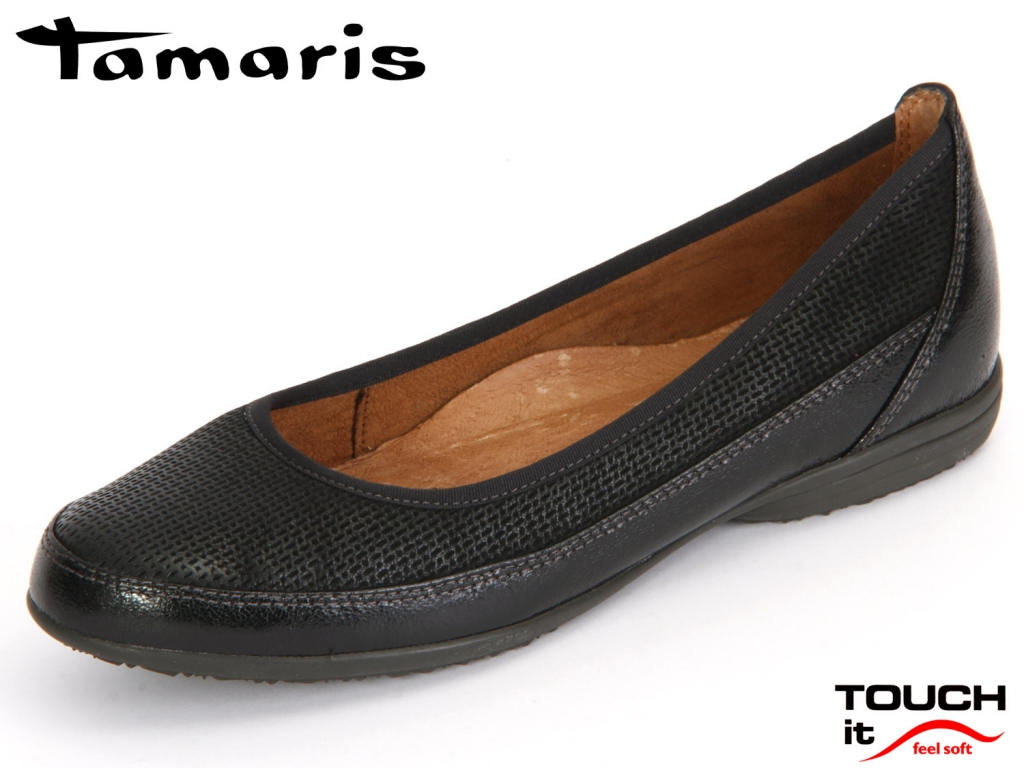 Tamaris 1-22115-26-001 black Leder