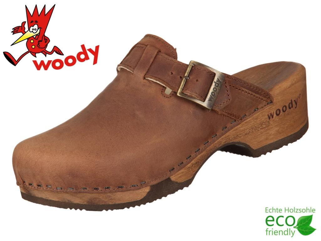 Woody Manu 6526 tabacco Fettleder