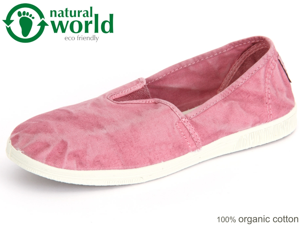 natural world Camping 615E-603 rosa enz Baumwolle