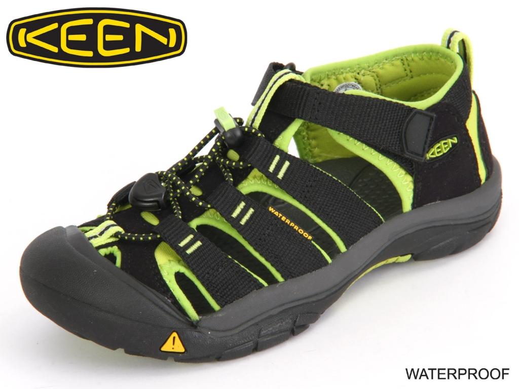 Keen NewportH2 1009965 black lime green