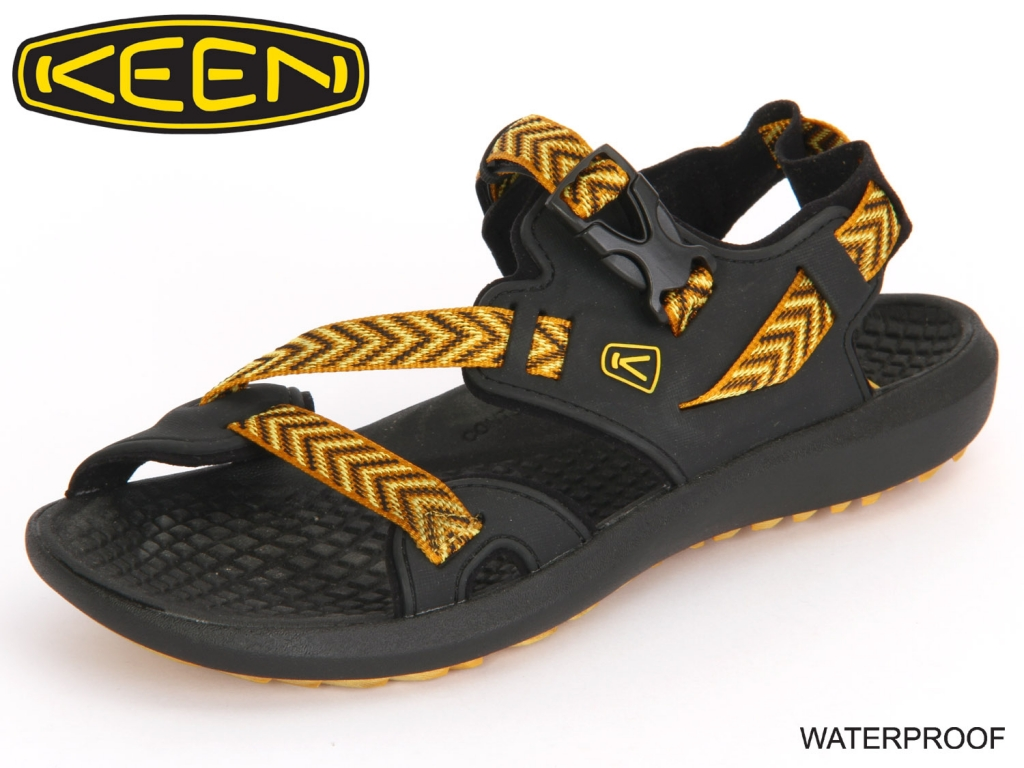 Keen Maupin 1014668 black-golden yellow Textil