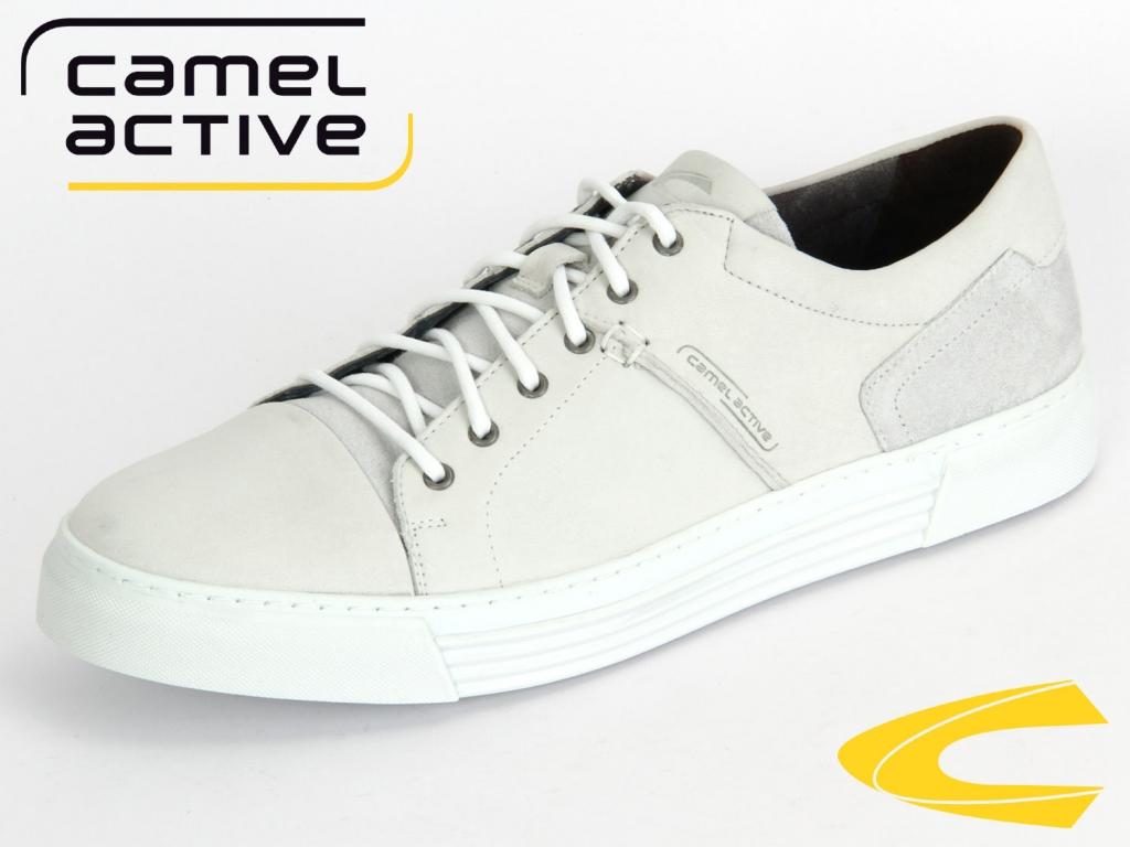 camel active Racket 460-12-01 white Velvet Nubuk Oil Suede