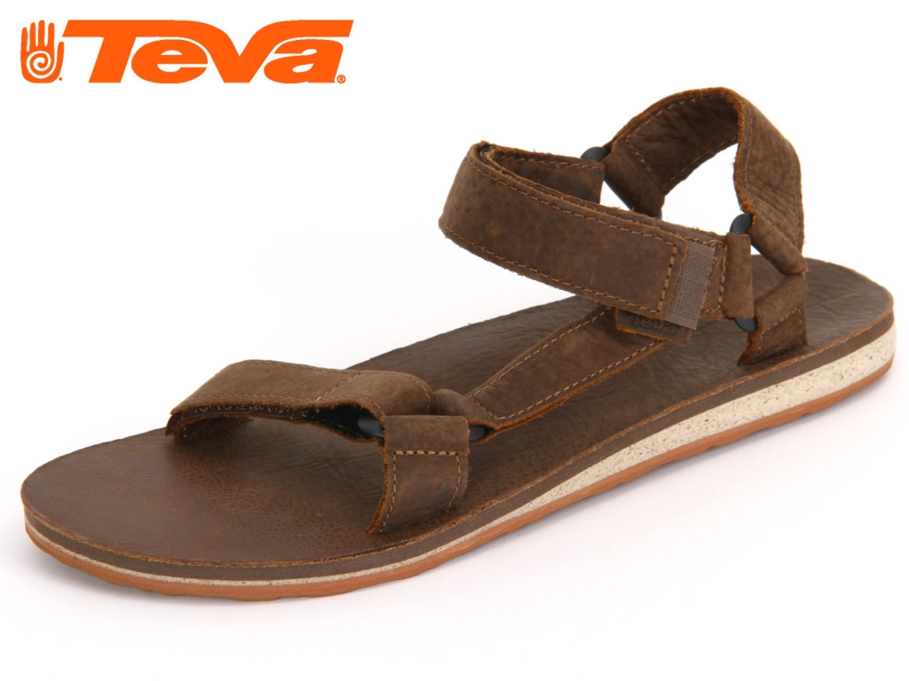 Teva Premium Leather 8790-607 dark earth premium leather