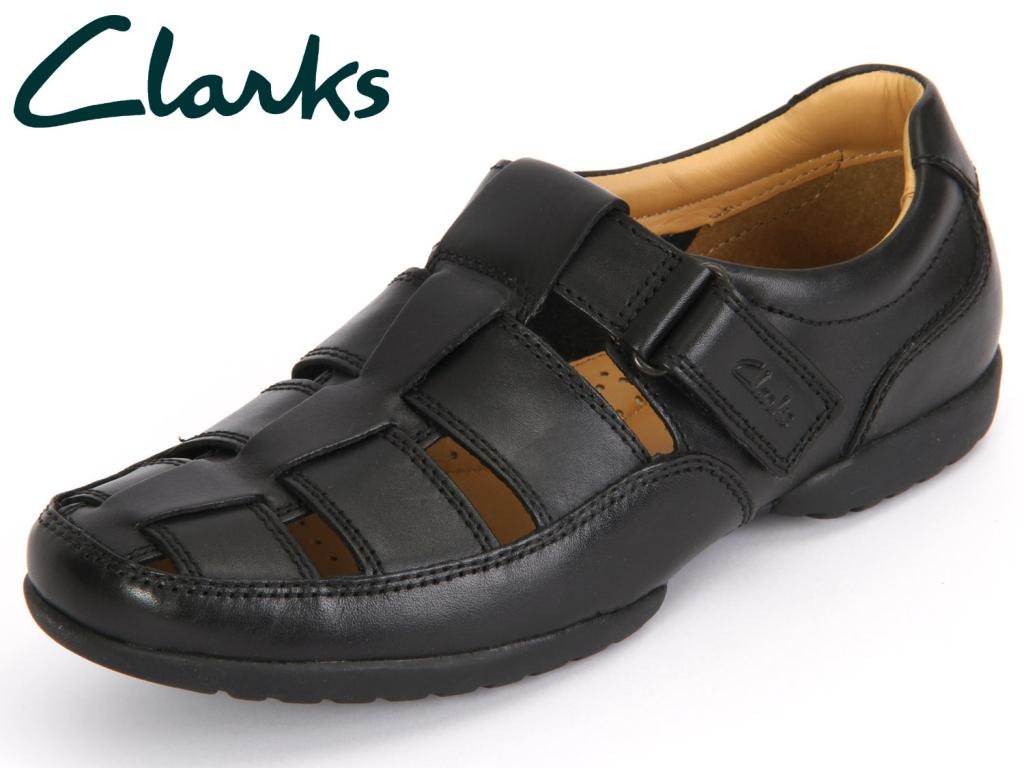 Clarks Recline Open 20349642 black Leather