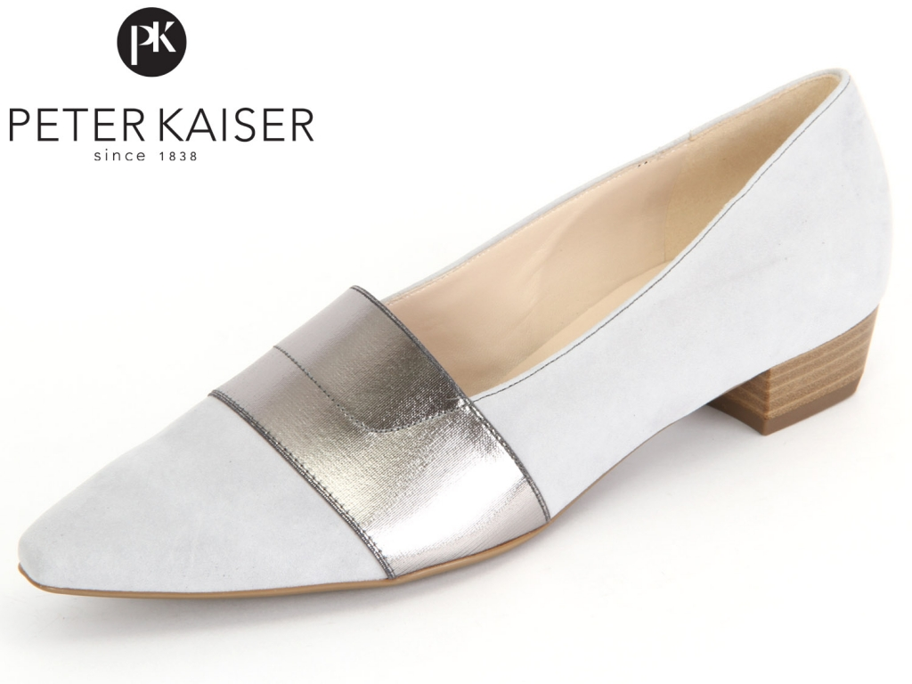 Peter Kaiser Lagos 22515-857 stahl ice Suede