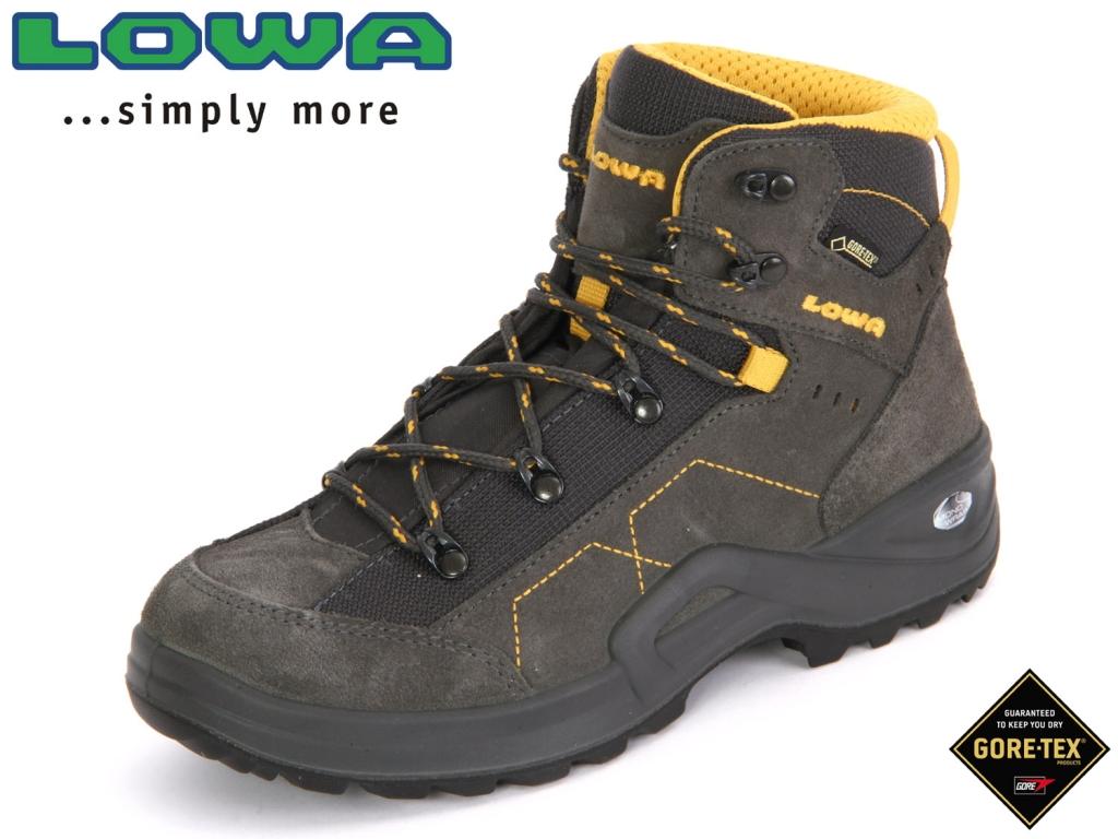 Lowa Kody III GTX Mid Junior 340099 9750 anthrazit-gelb