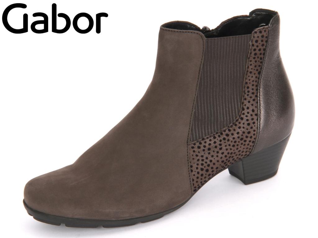 Gabor 55.635-19 anthrazit Nubuk Point Iron