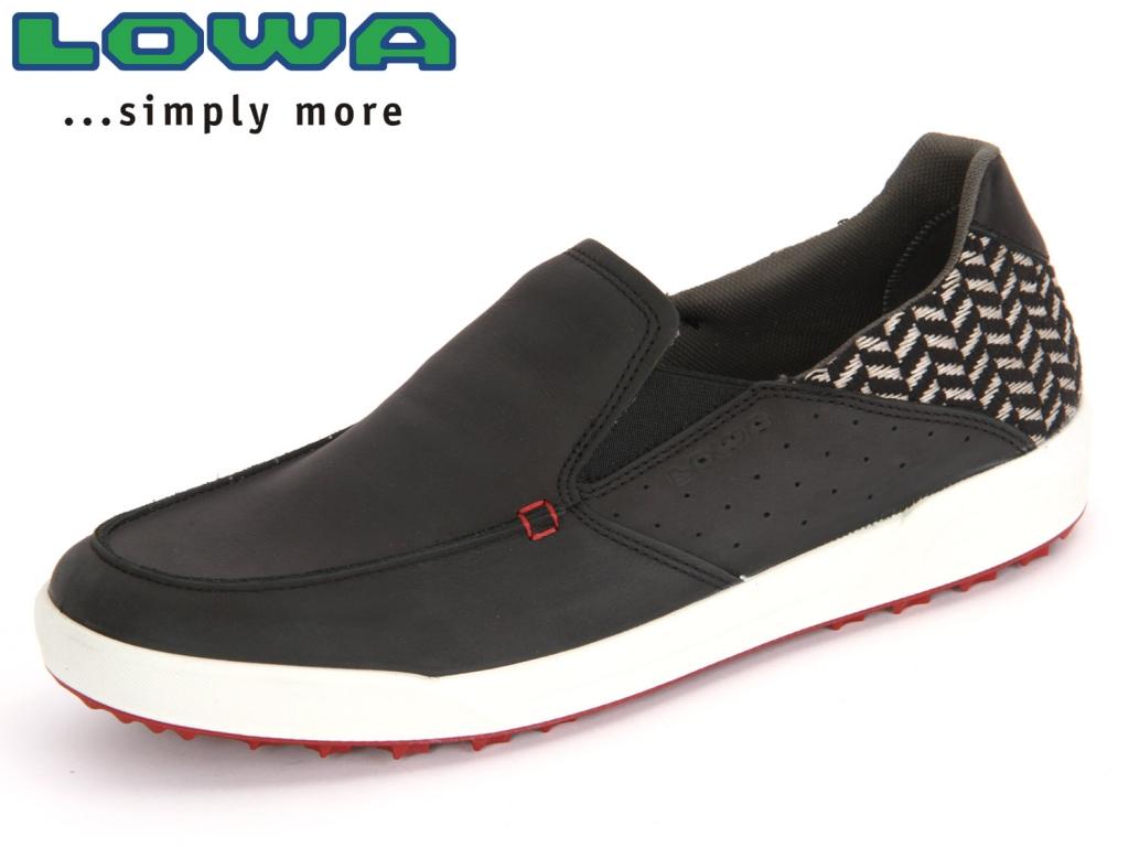 Lowa Cadiz 310777 9901 schwarz rot Nubuk