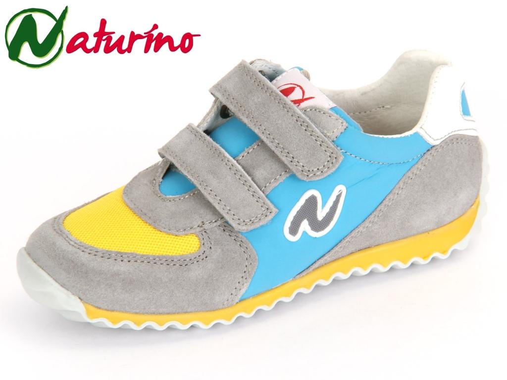 Naturino DEVEN 001201114202-9112 piombo giallo sky Velour Textil