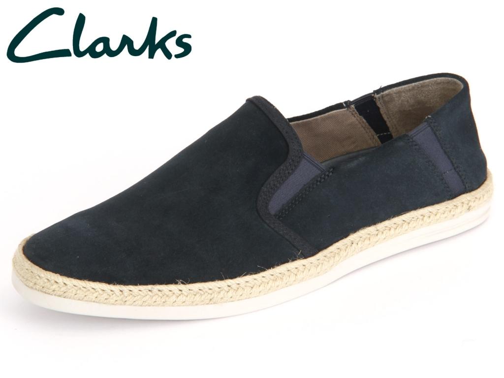 Clarks Bota Step 261229287 navy Suede