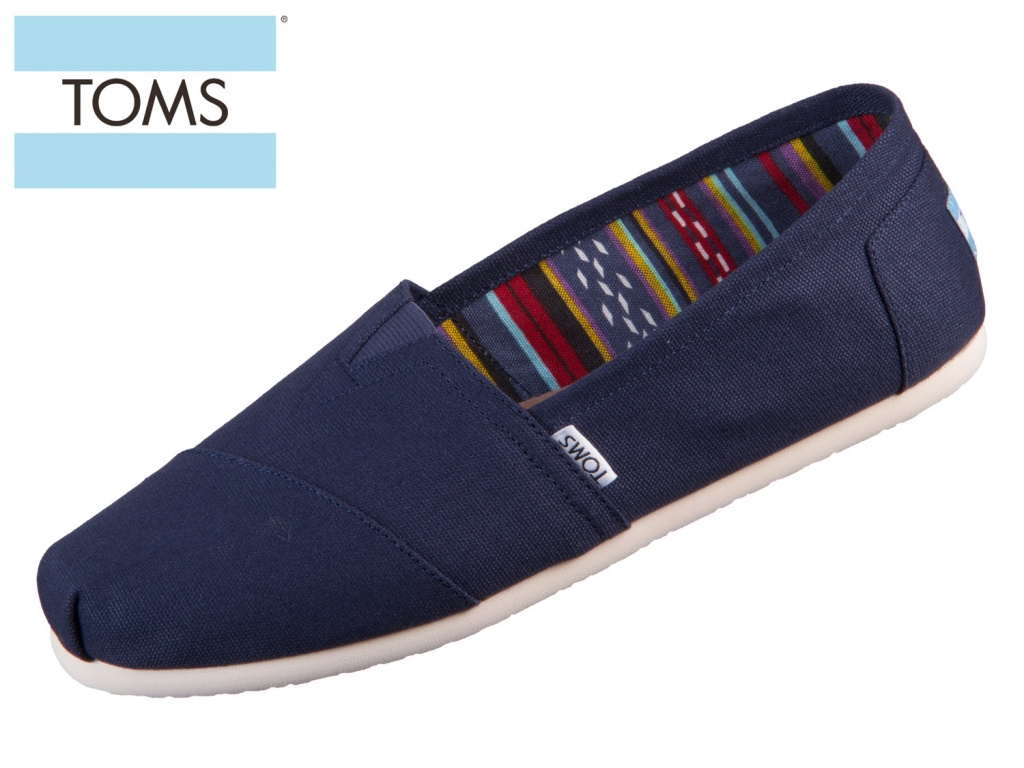 TOMS Classic 10000866 navy Canvas