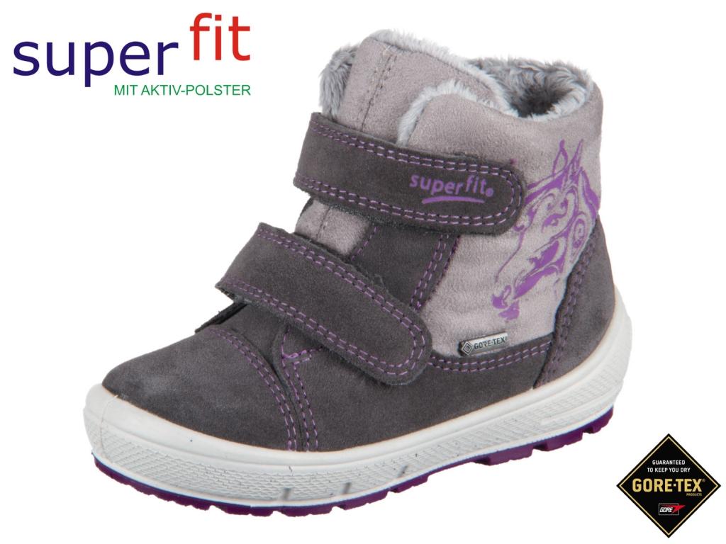 SuperFit Groovy 1-00313-06 stone kombi Velour Textil Tex