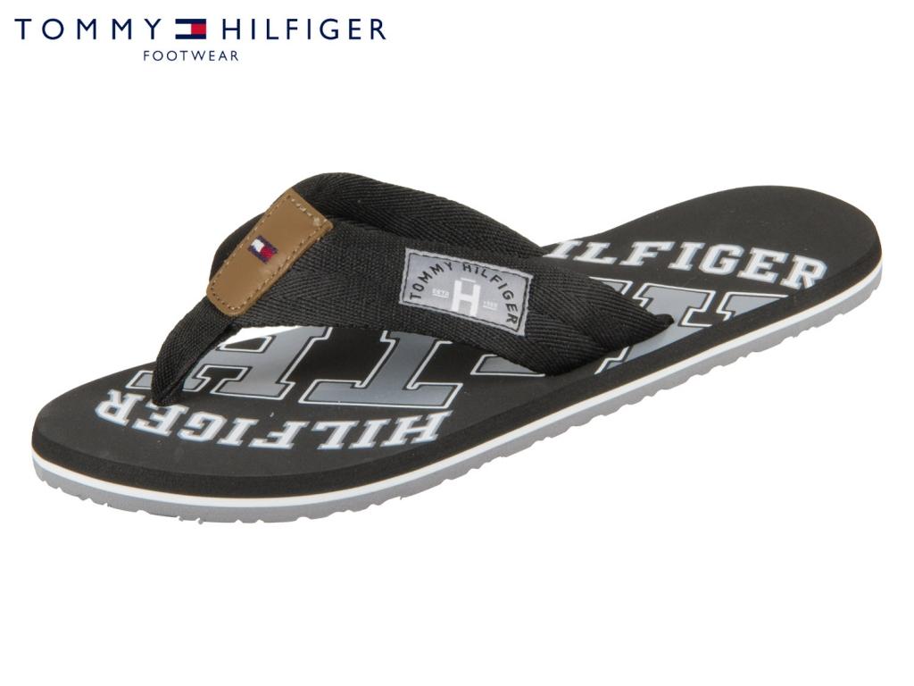 Tommy Hilfiger Essential TH Beach Sandal FM0FM01369-990 black